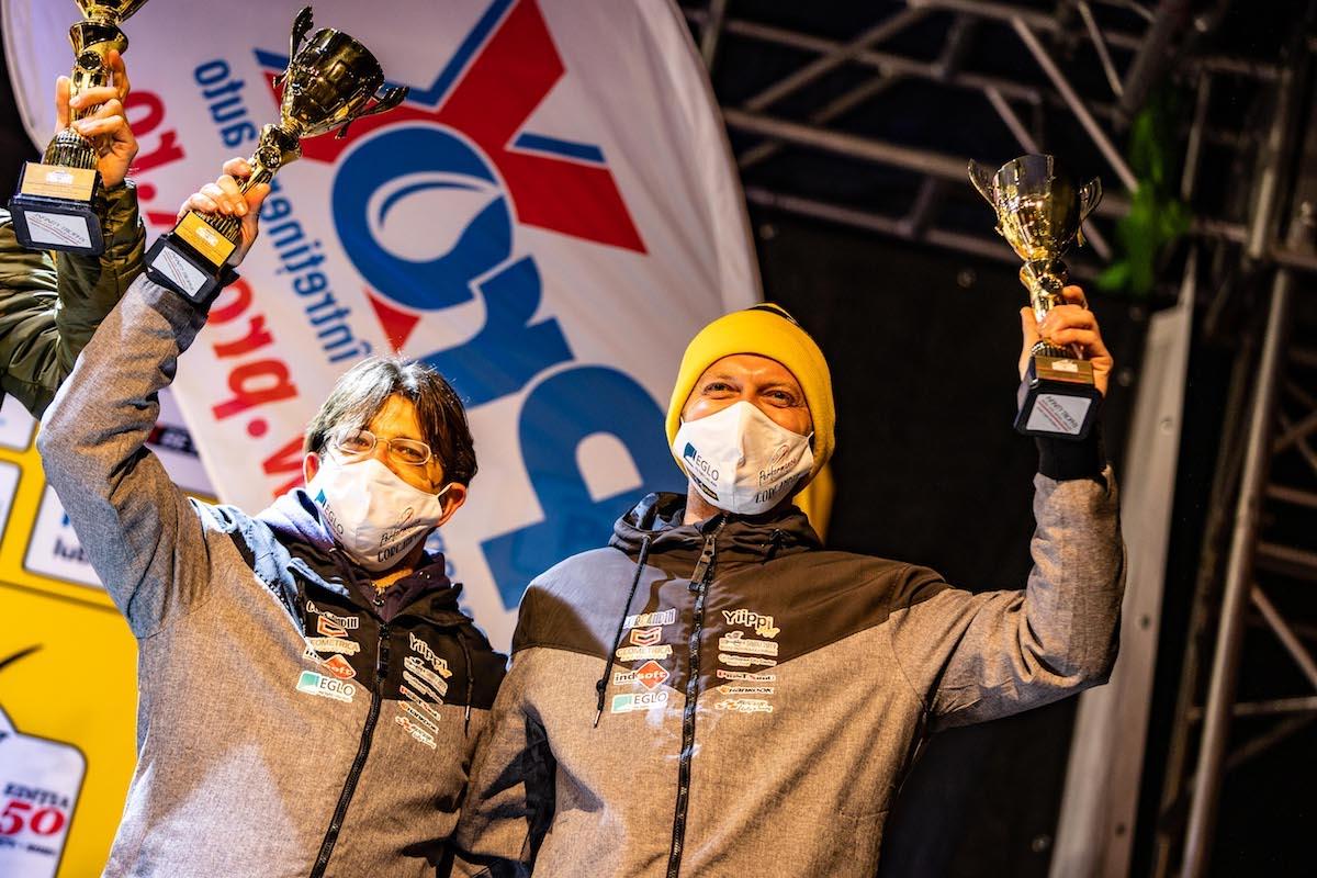 """Sibienii Sebastian Barbu și Bogdan Iancu, pe podium la Raliul Brașovului. """"Rămâne una dintre cele mai dificile etape"""""""
