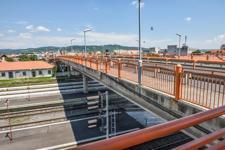 Documentația pentru Podul Gării a intrat în lucru. Execuția reabilitărilor ar trebui să dureze trei luni