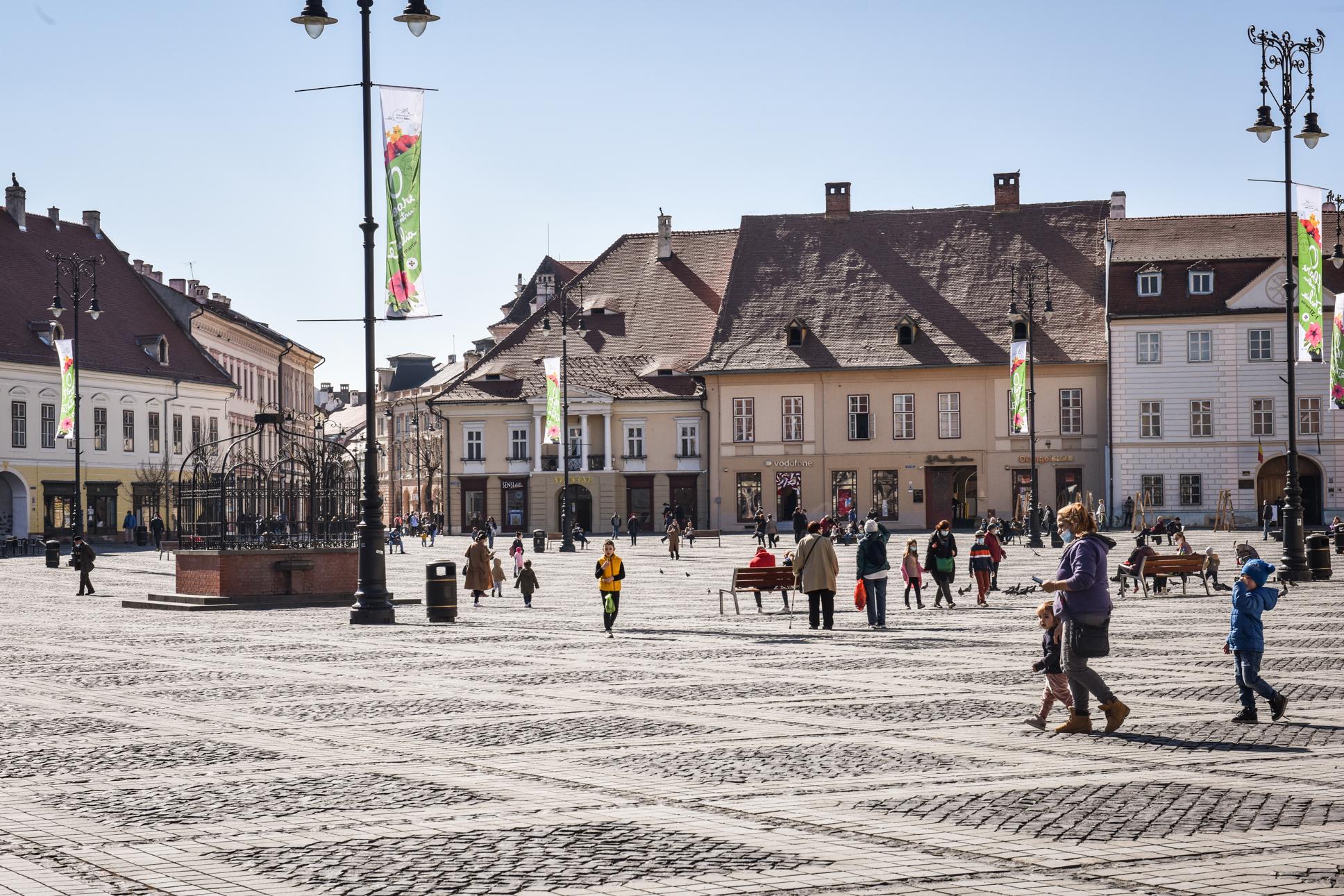 2,89 - incidența în municipiul Sibiu. Situația în fiecare localitate: Şura Mare intră în scenariul roșu