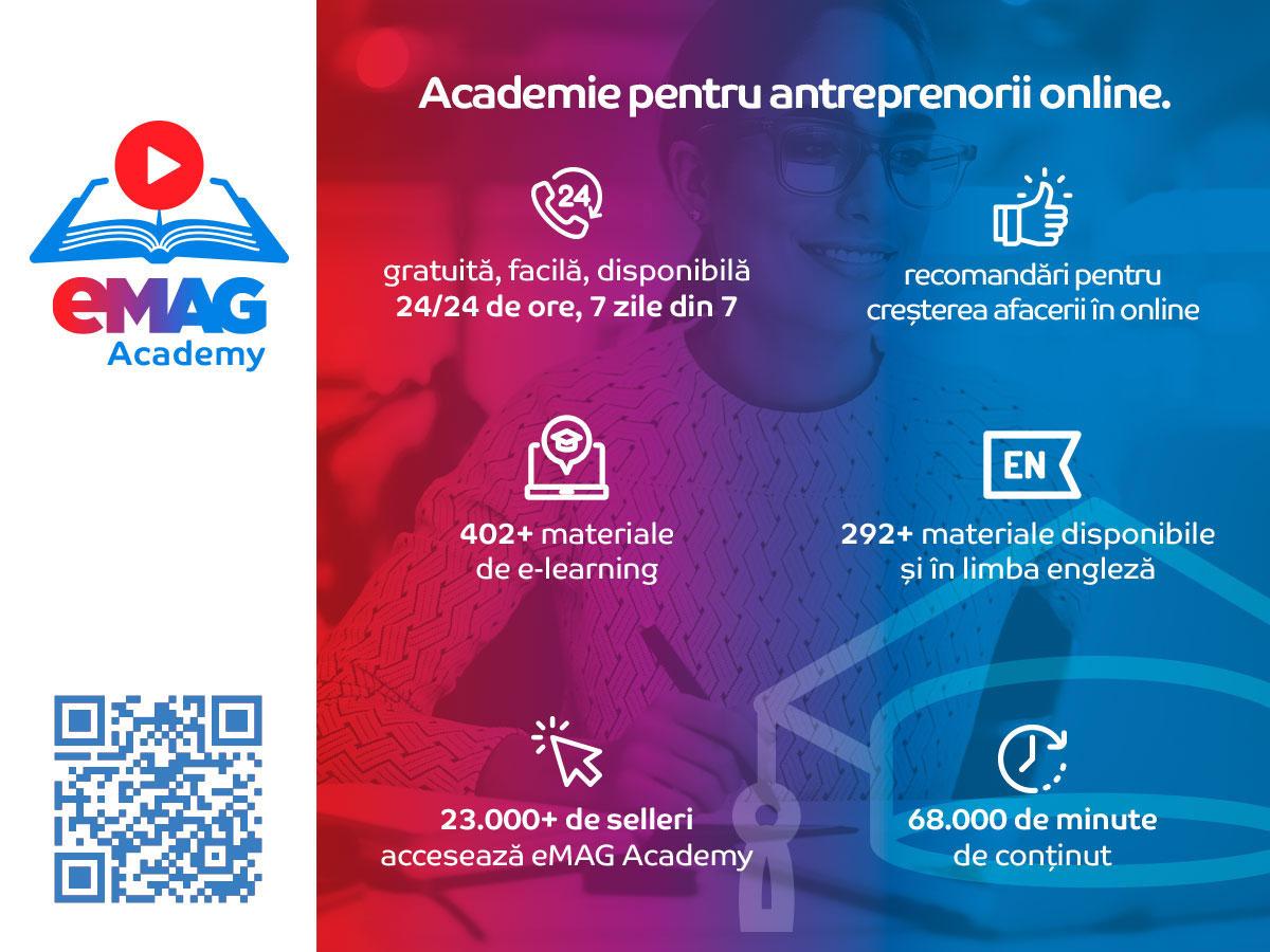 Învață ABC-ul comerțului electronic cu eMAG Academy