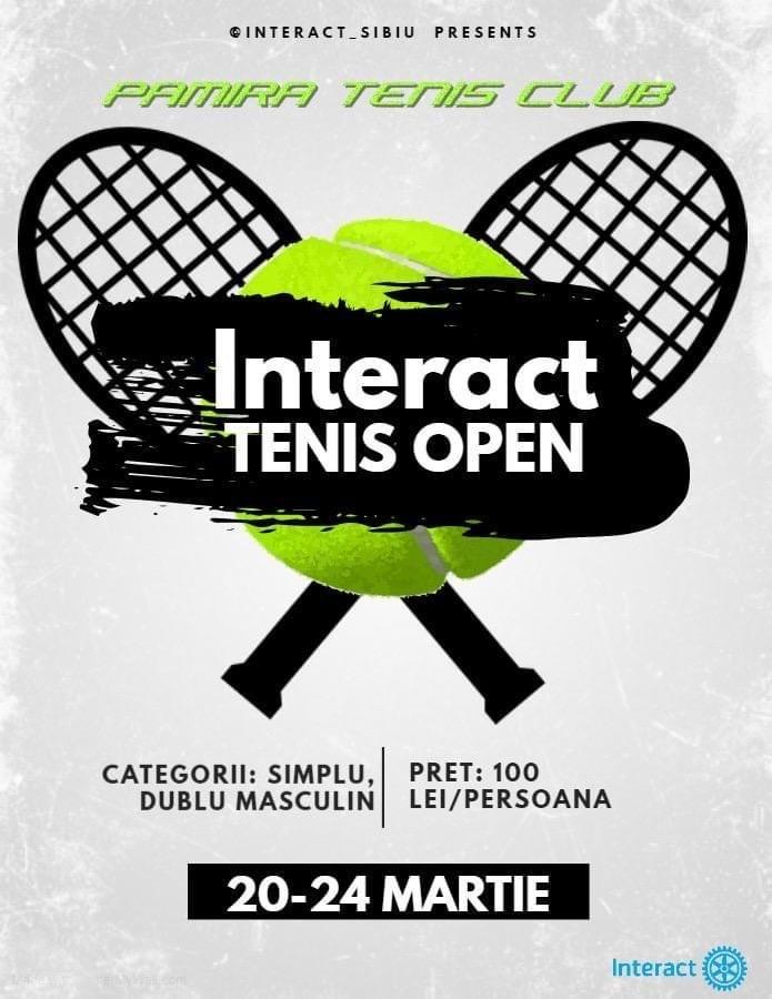 Interact Tenis Open, primul turneu de tenis din Sibiu al acestui an. Încă se fac înscrieri