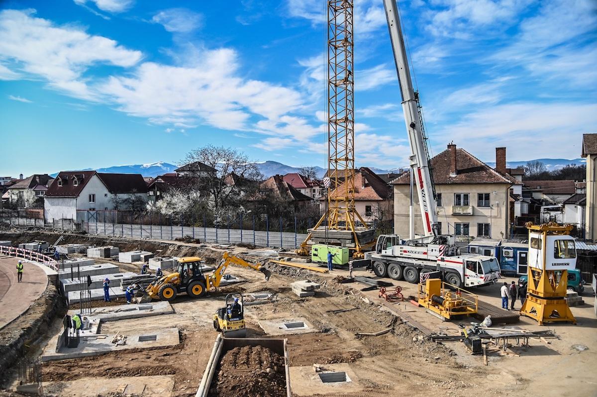 Primăria Sibiu: Lucrările de modernizare a infrastructurii Sibiului continuă