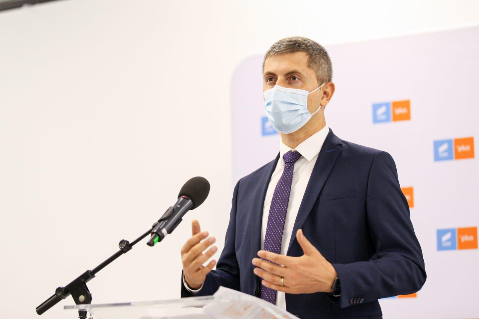 Dan Barna: De astăzi, premierul Florin Cîțu nu mai are susținerea USR PLUS