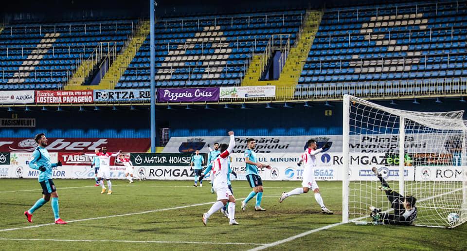 FC Hermannstadt joacă astăzi, în play-out-ul Ligii 1, cu Chindia