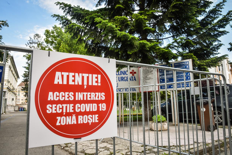 A scăzut numărul pacienților internați cu COVID, în Sibiu. Patru au murit