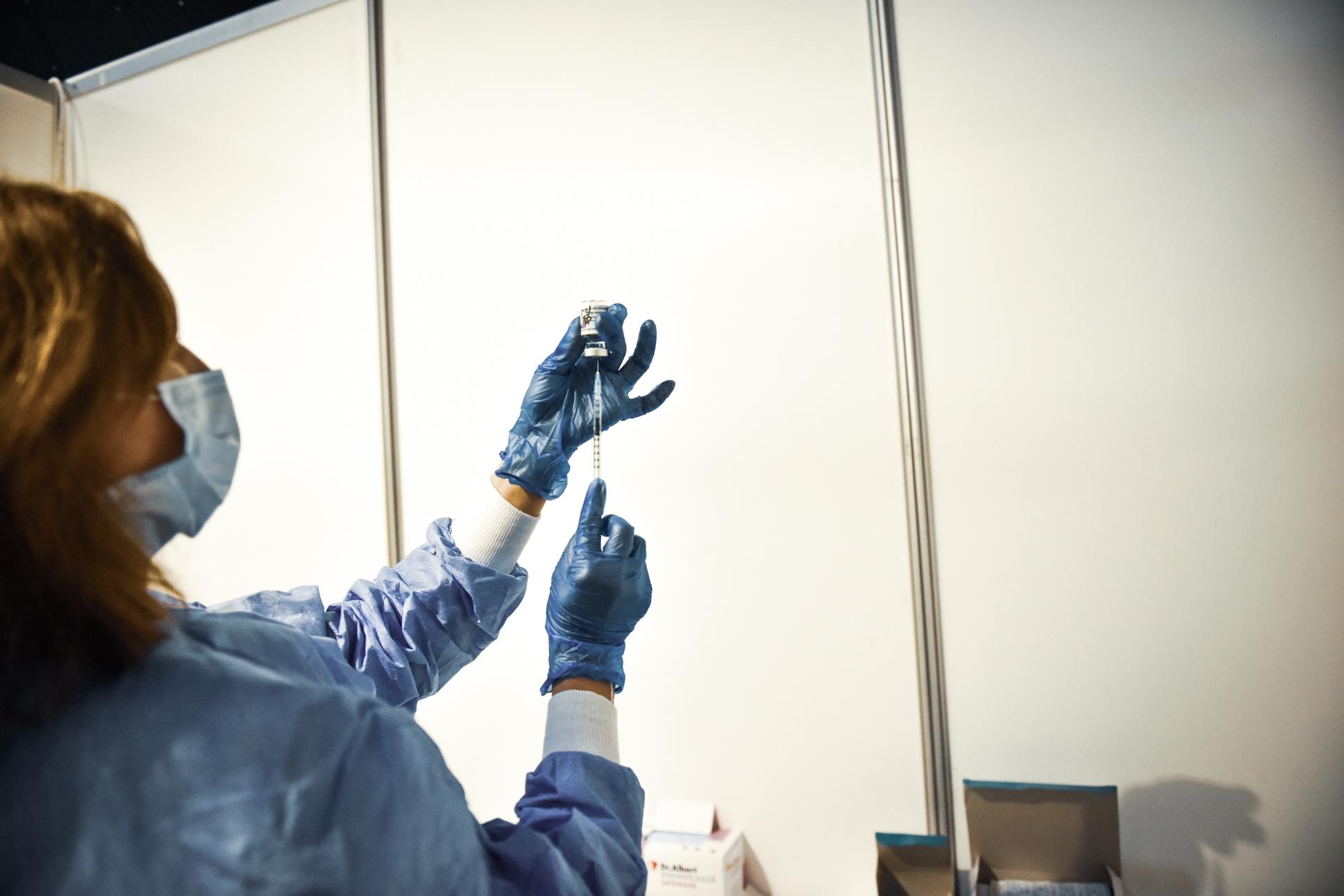 Începe vaccinarea la Marpod cu o echipă mobilă pusă la dispoziție de MApN