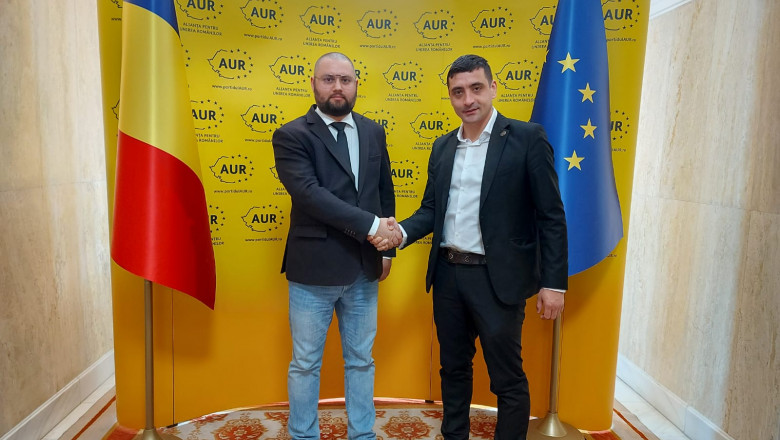 """Raluca Amariei, primită în AUR """"la pachet"""". Un fost deputat USR s-a înscris și el în partid"""