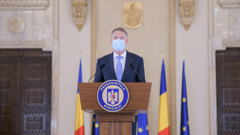 VIDEO. Iohannis: Le cer guvernanţilor mai puţine dispute şi mai mult dialog; prioritarea zero este lupta cu pandemia