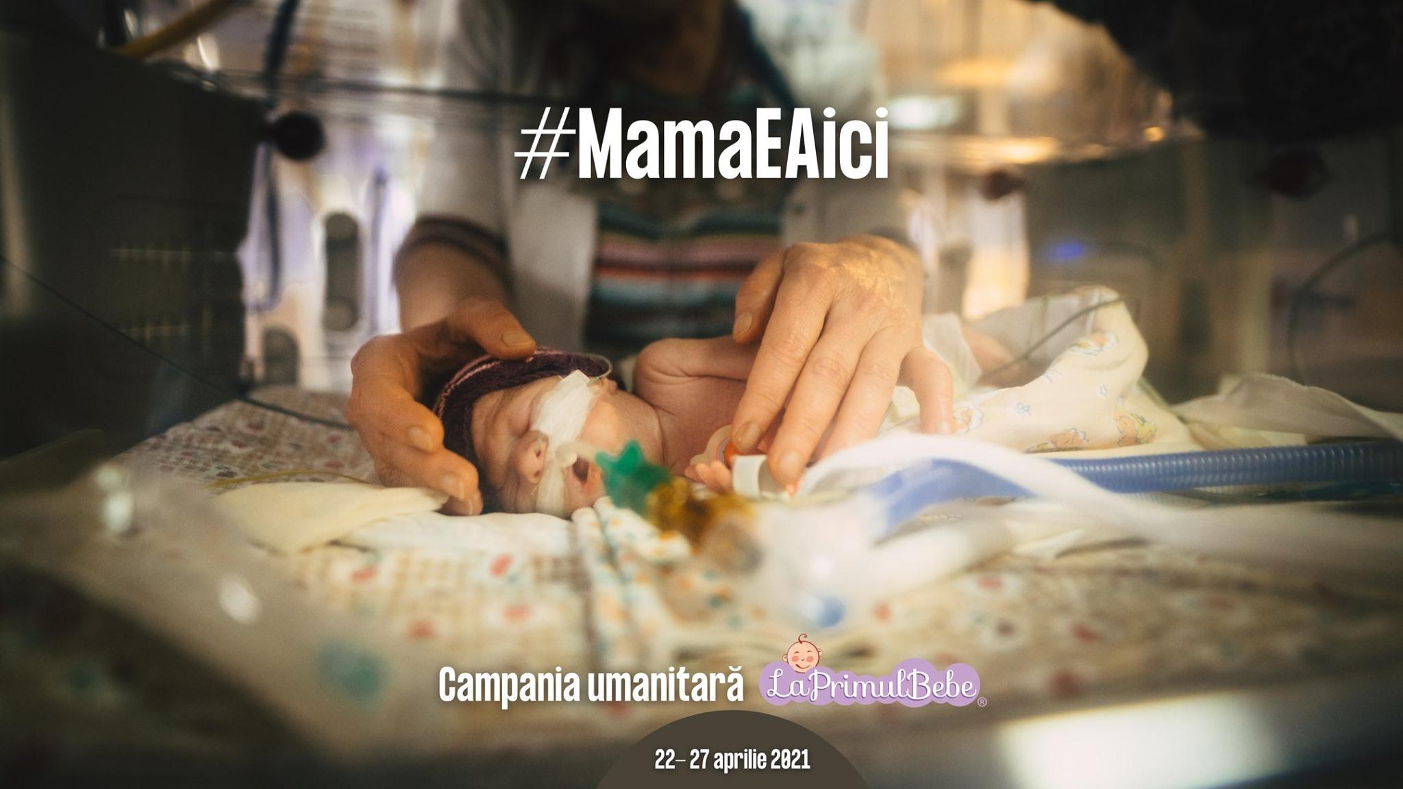 """""""MamaEAici"""". Campanie pentru dotarea Secției de Neonatologie din Sibiu: sistem video și ambulanță neonatală"""