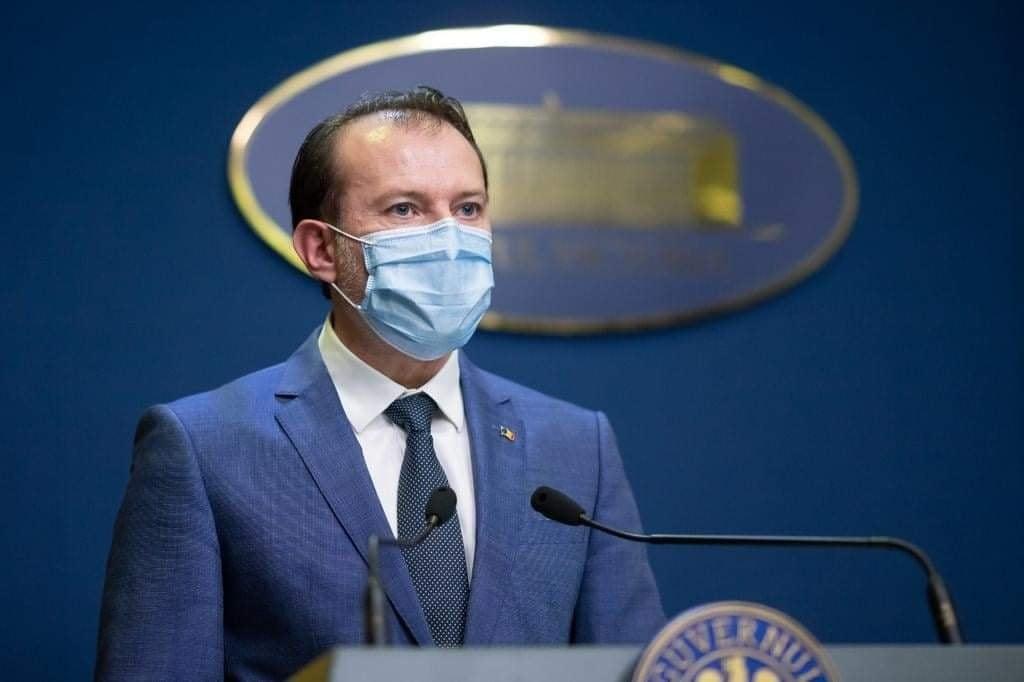 Cîțu: ne gândim să renunţăm la mască după ce avem 10 milioane de cetăţeni vaccinaţi