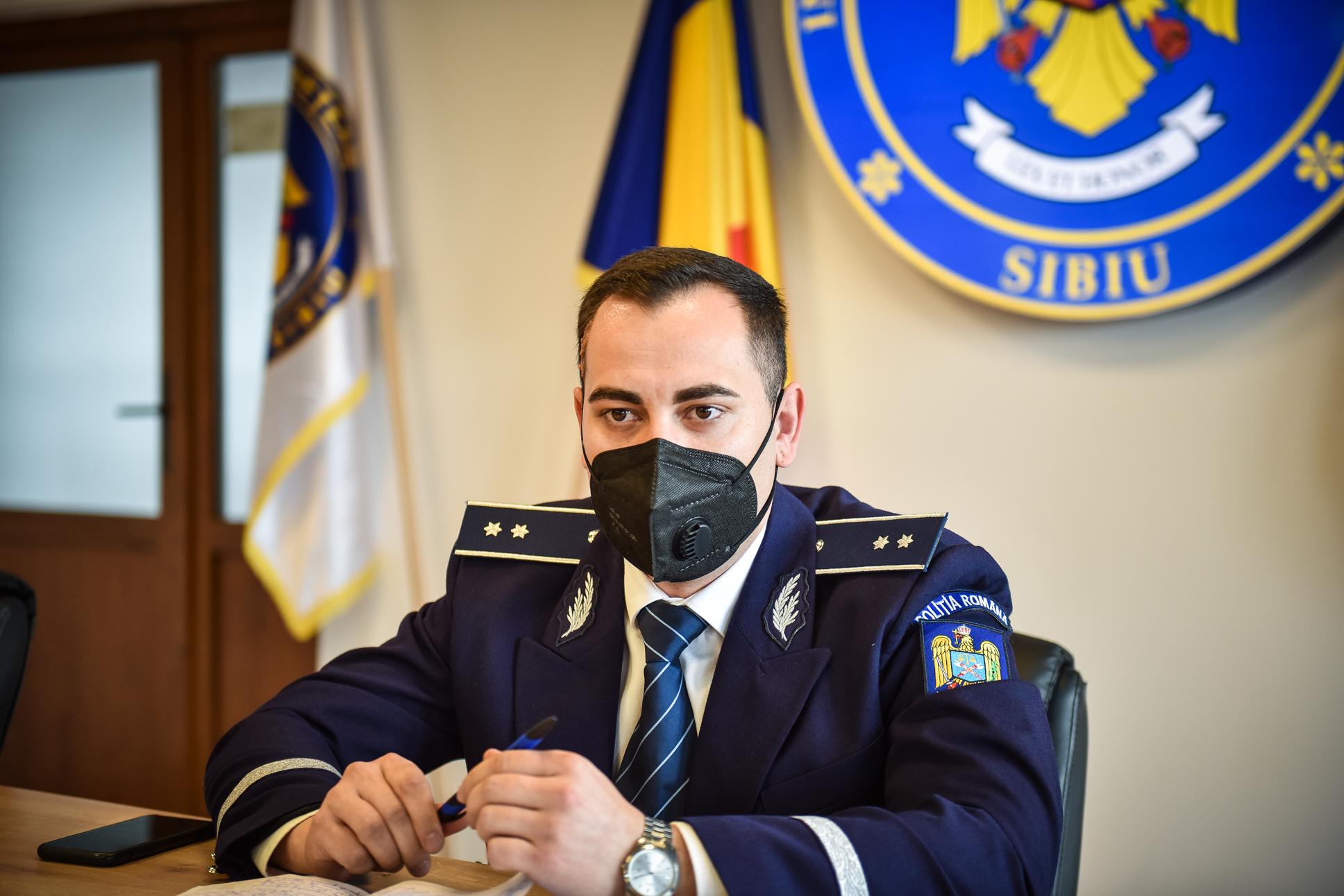 """Polițistul anului, la Sibiu: """"Cel mai mult cercetăm înșelăciuni, contrabandă, evaziune fiscală"""""""