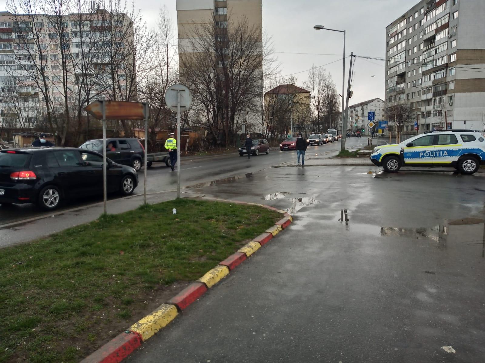 Șofer prins beat la amiază, la filtrul de poliție de la intrarea în Cisnădie