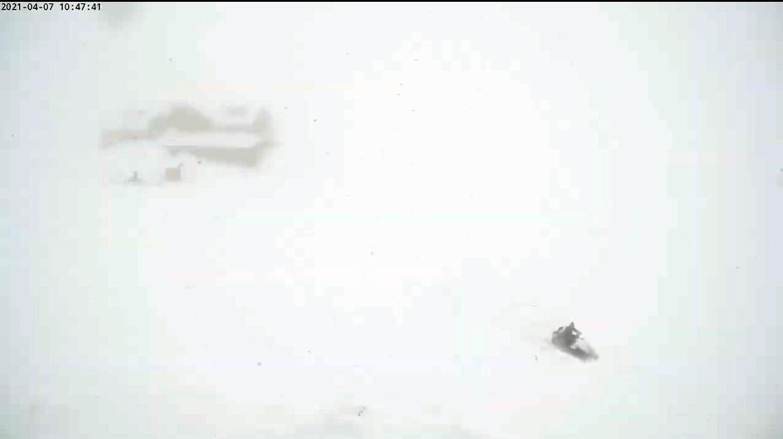 Zăpadă de aproape trei metri, la Bâlea Lac