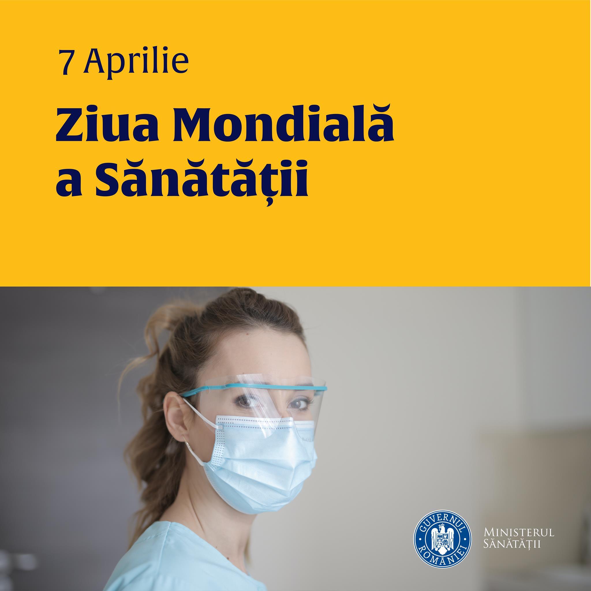 COVID-19, cuvântul cheie din mesajele medicilor sibieni cu ocația Zilei Mondiale a Sănătății