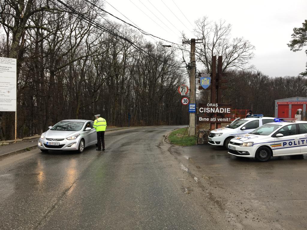 Încă un șofer beat, prins în filtrul de politie de la ieșirea din Cisnădie