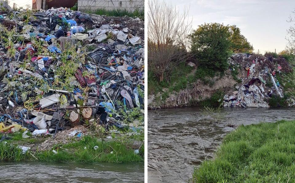 GALERIE - La o lună de la începerea strângerii deșeurilor, Cibinul arată mai rău decât groapa de gunoi a Sibiului