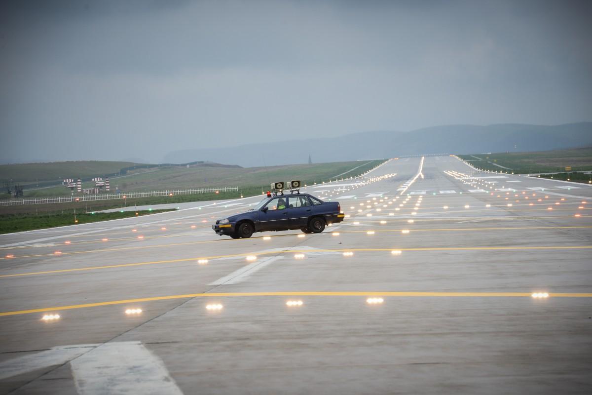 Prima licitație pentru terminalul cargo al Aeroportului sibian. I-au fost alocați 6.000 de mp