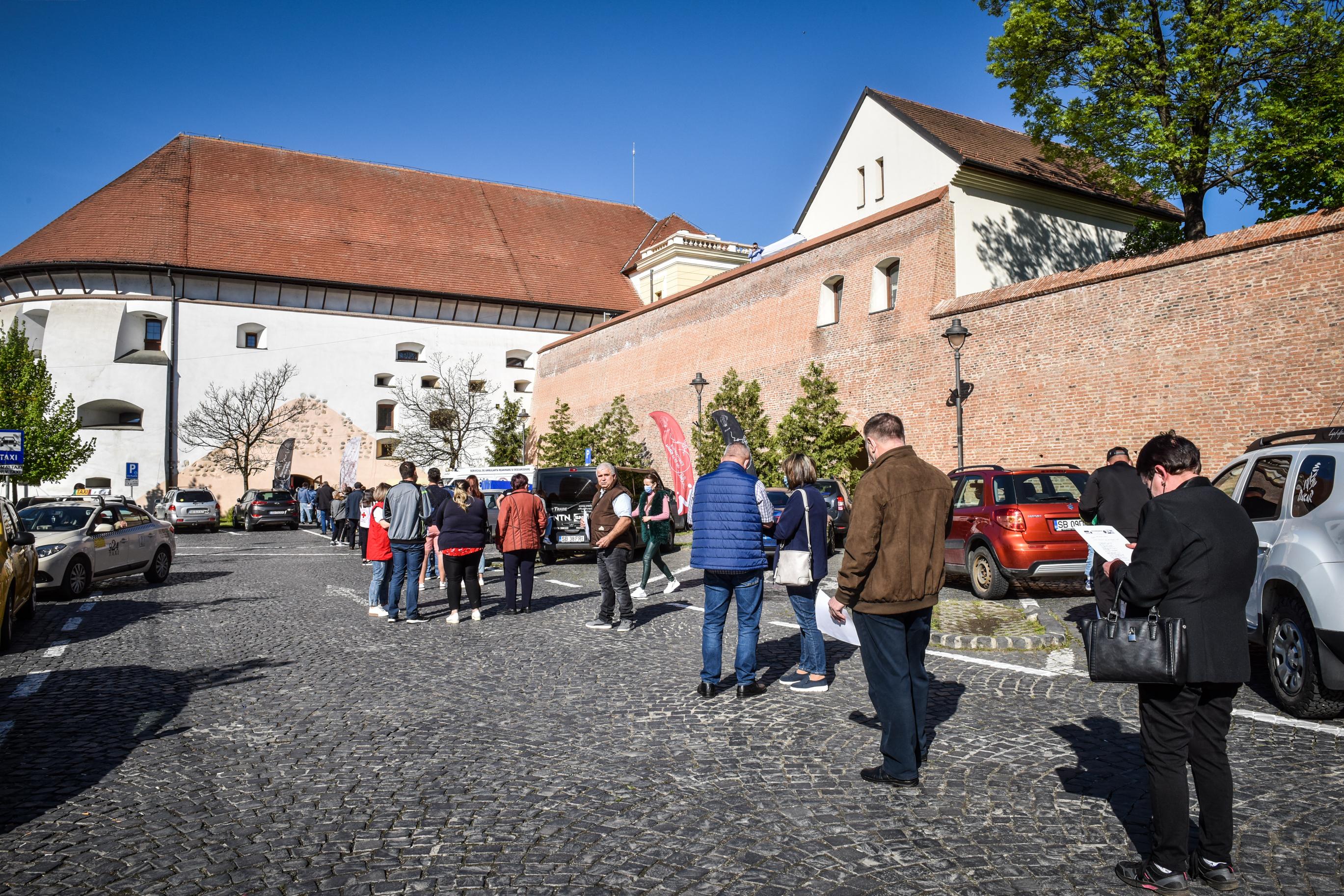 Sibiu, pe locul trei în țară la vaccinare după București și Cluj
