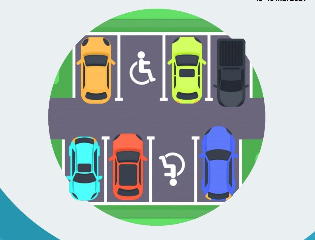 """Studenții sibieni și-au propus să-i """"dezvețe"""" pe șoferi să mai parcheze pe locurile persoanelor cu dizabilități"""