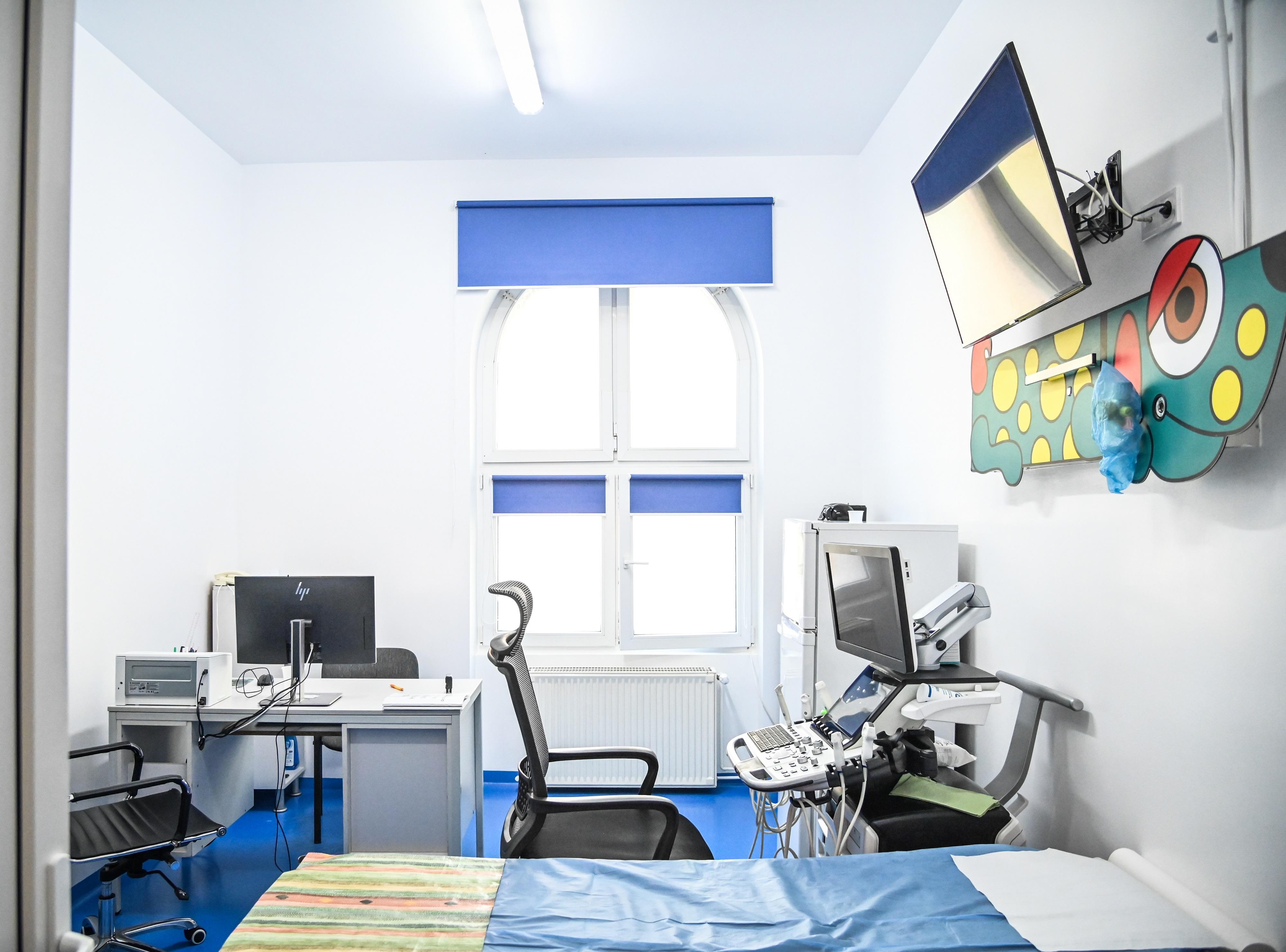 FOTO. Investiții de 11,8 milioane de lei pentru modernizarea și dotarea Spitalului de Pediatrie din Sibiu