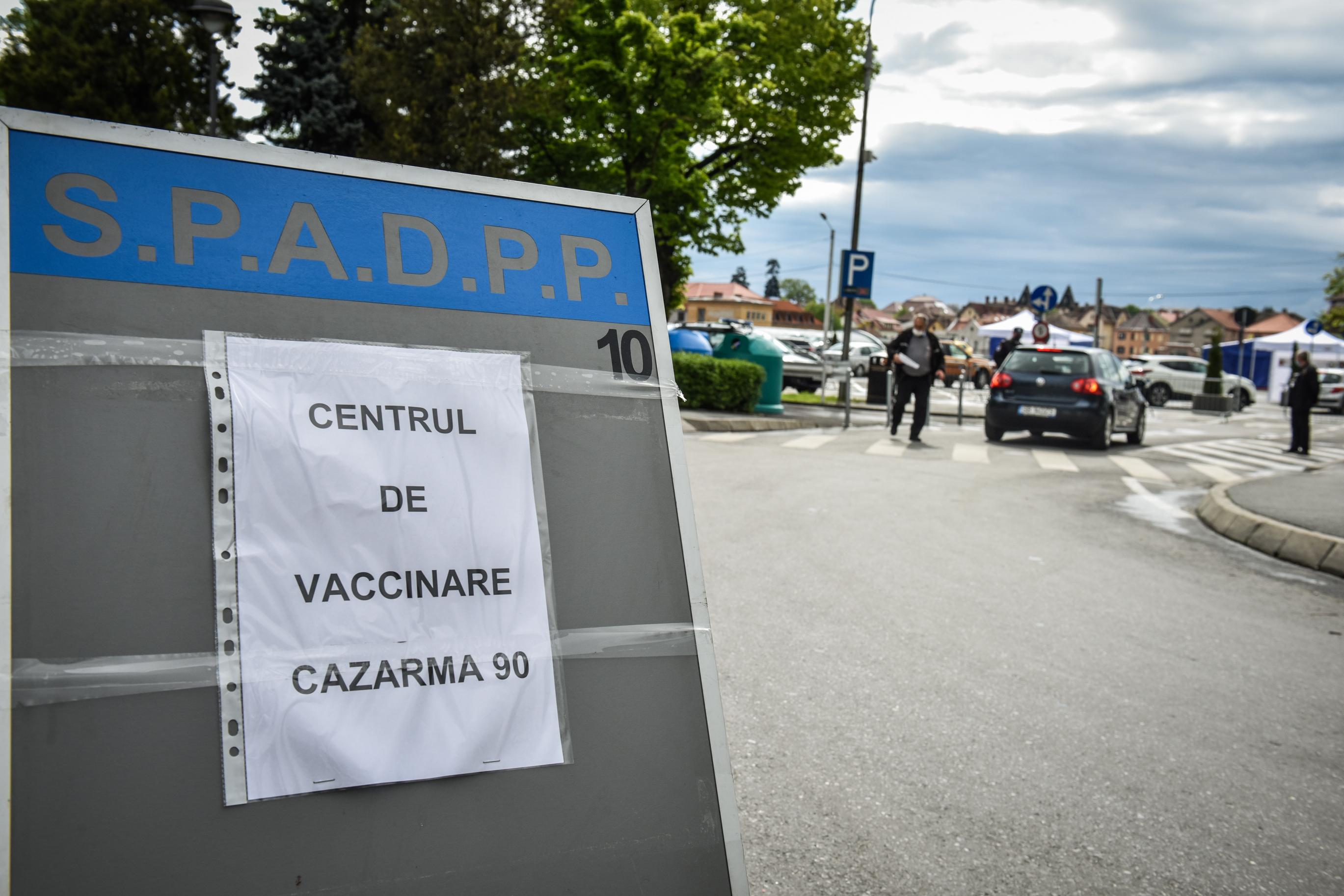 Peste 61.700 de sibieni au fost vaccinați cu ambele doze de vaccin