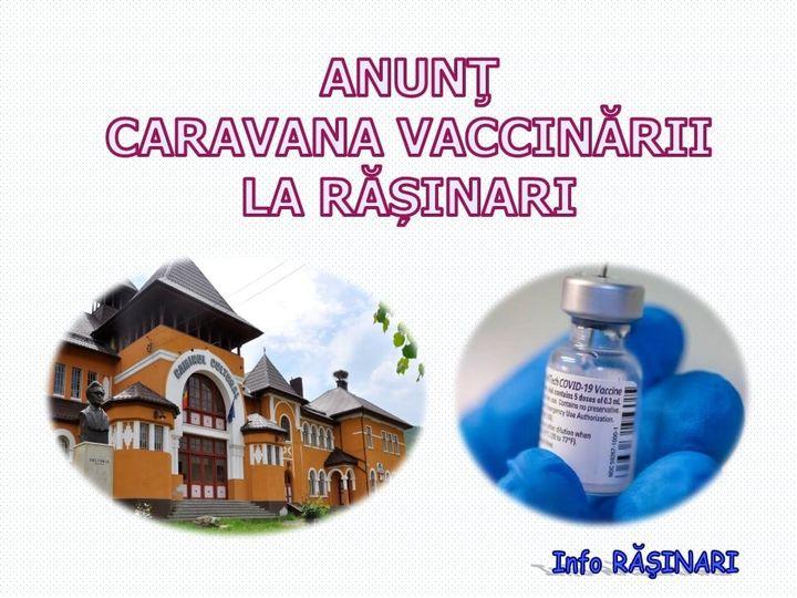 Caravana vaccinării ajunge astăzi la Rășinari