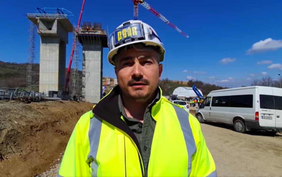 """VIDEO - """"E un viaduct spectaculos ca lucrare în cadrul proiectului Sibiu-Pitești"""". De vorbă cu ing. Vlad Oțet, reprezentant PORR"""