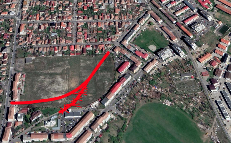 Străzile Siretului, Gheorghe Dima și Prelungirea Arieșului vor avea sens unic. După ce va fi gata noua stradă peste fosta autobază Tursib