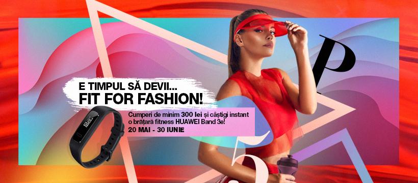 """E timpul să devii """"Fit for Fashion"""" la maratonul de cumpărături din Promenada Sibiu"""