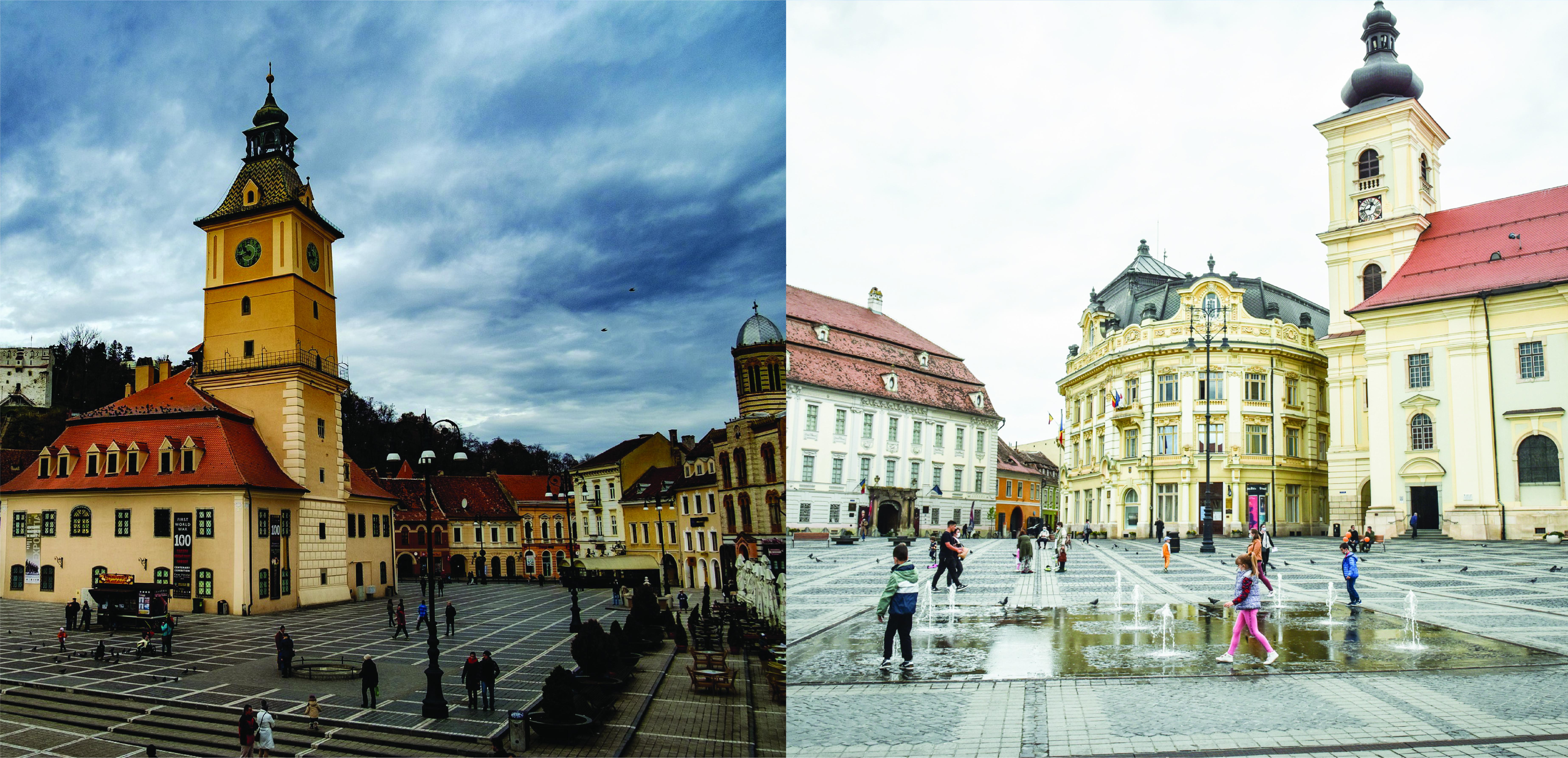 Comparație Sibiu – Brașov. Suntem bătuți la economie și turism, dar suntem peste la educație și siguranță