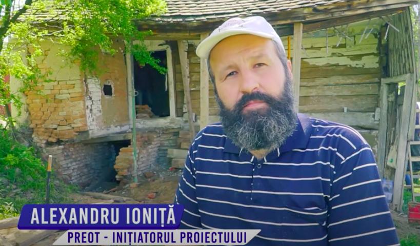 Viața în Casa Românească din Gușterița suprinsă prin camera de filmat a unui tânăr sibian