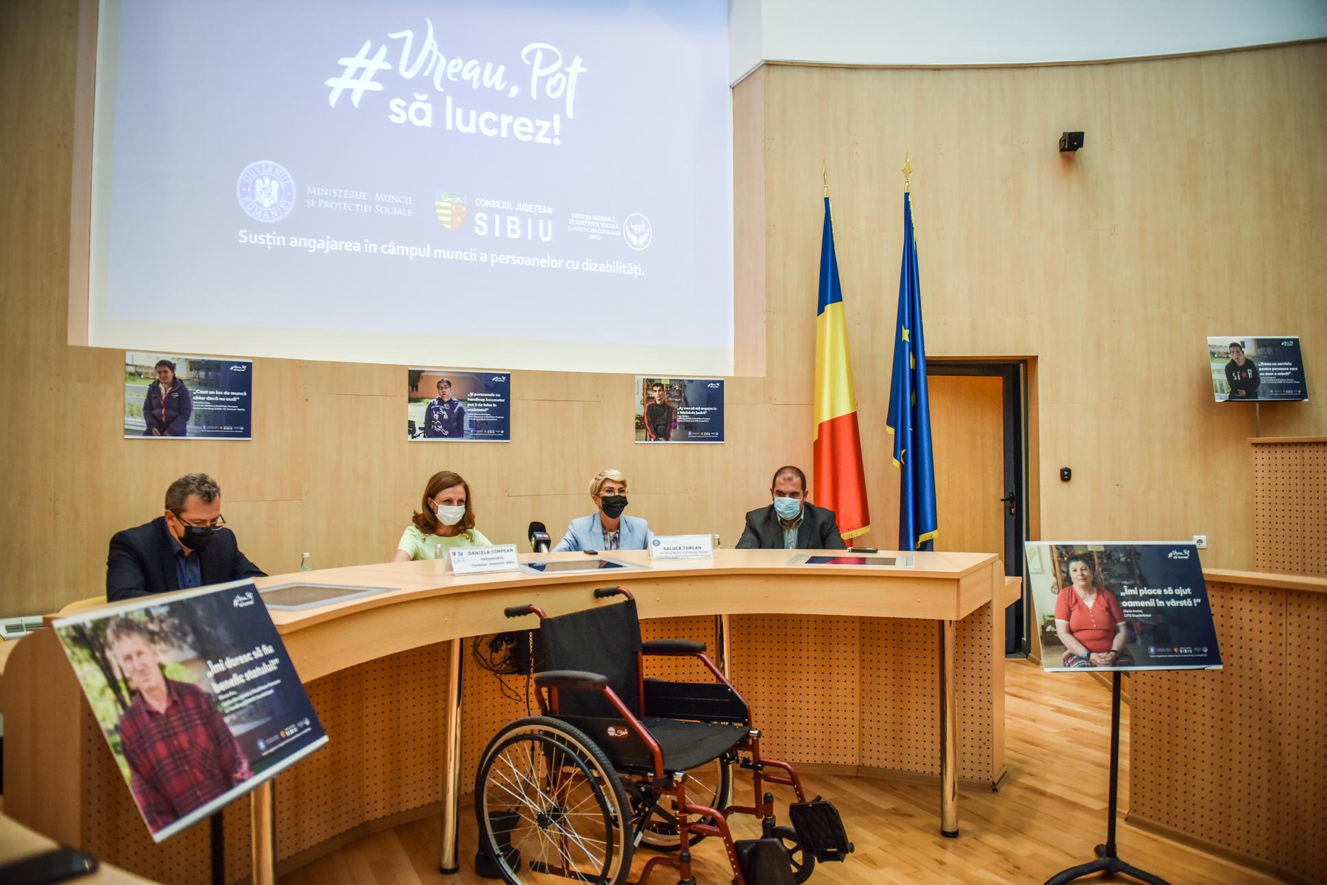 Ministrul Muncii spune că vor fi investite 50 de milioane de euro prin PNRR pentru protecţia adulţilor cu dizabilităţi