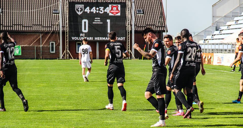 FC Hermannstadt avans în fața lui Dinamo pentru două ore, după victoria din prima zi de Paști