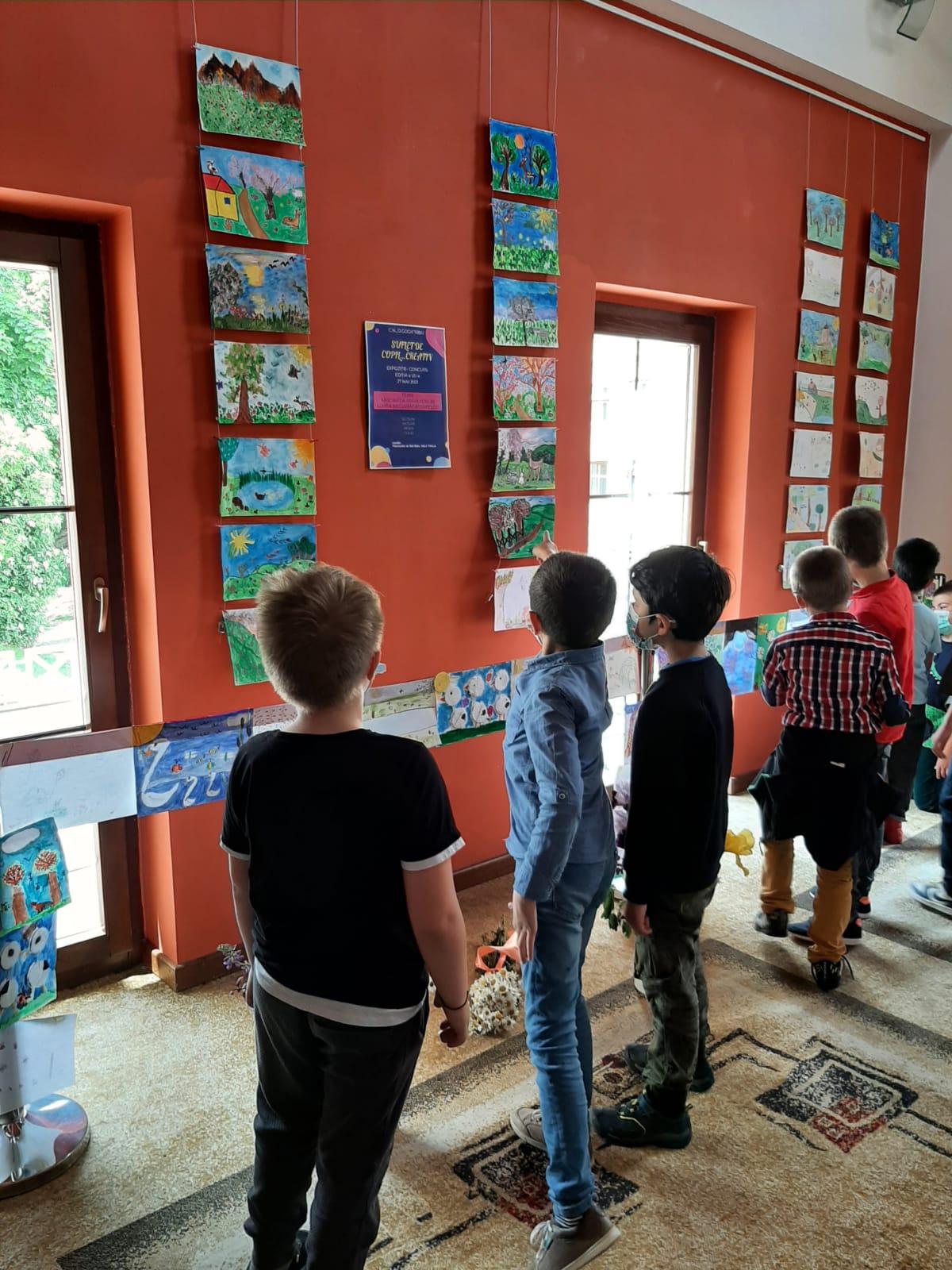 Elevii sibieni și-au demonstrat creativitatea, la Sala Thalia