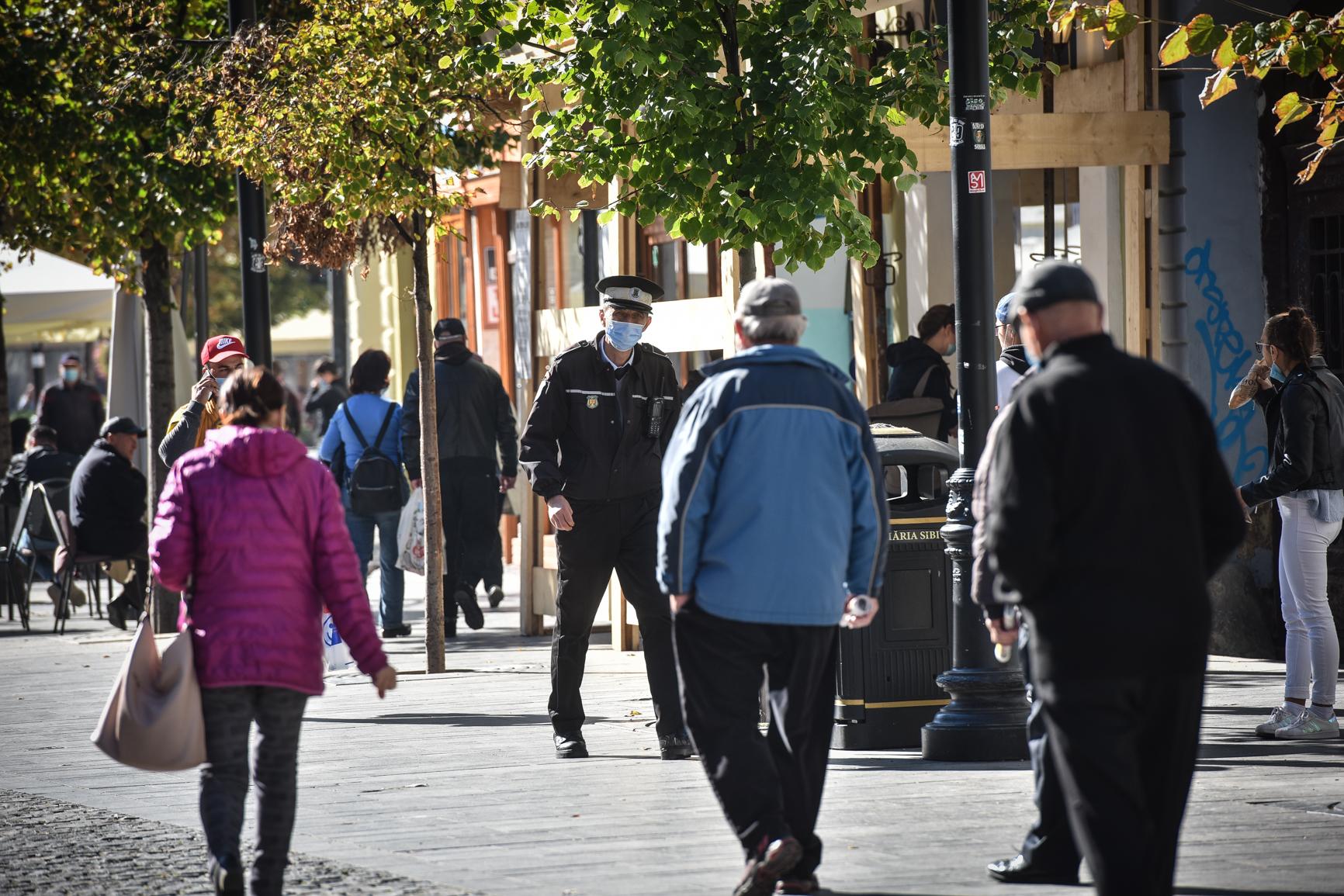 248 de cazuri active în județ. Rata incidenței scade și în Cisnădie