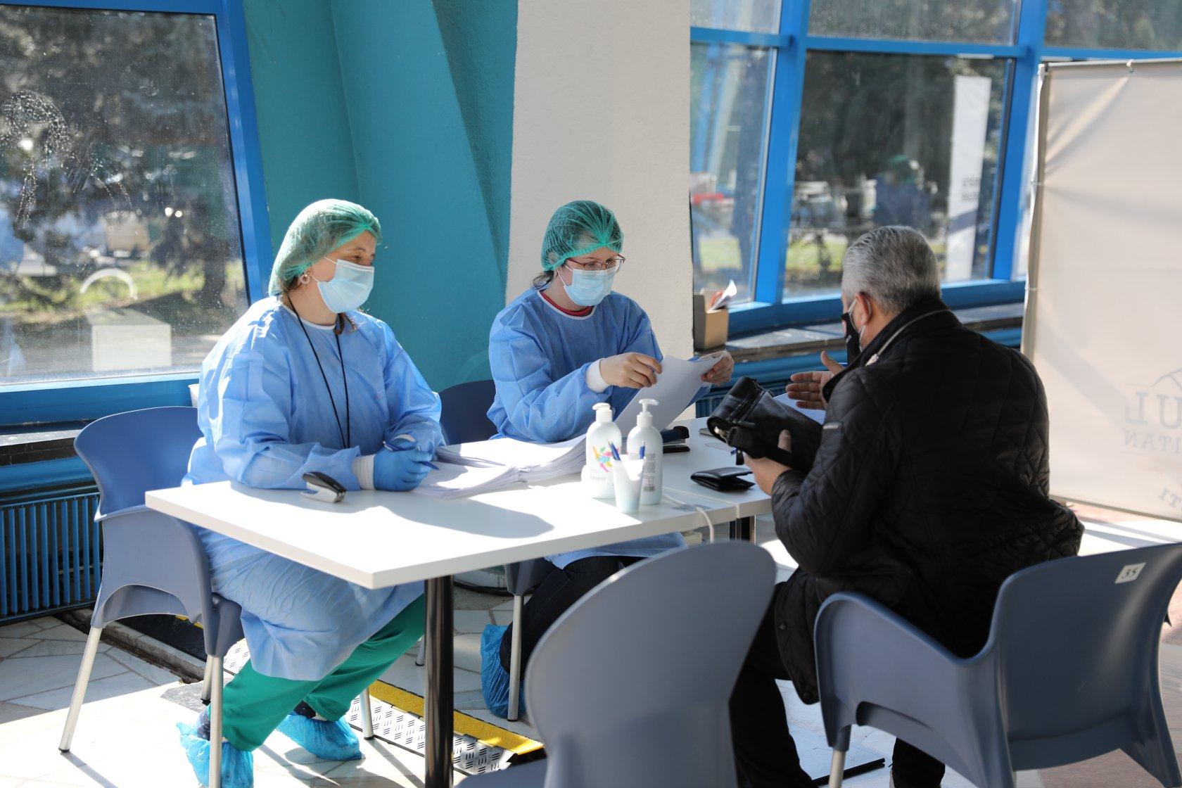 Sibiul este pe locul cinci în țară. 21.8% din populația județului vaccinată cu cel puțin o doză