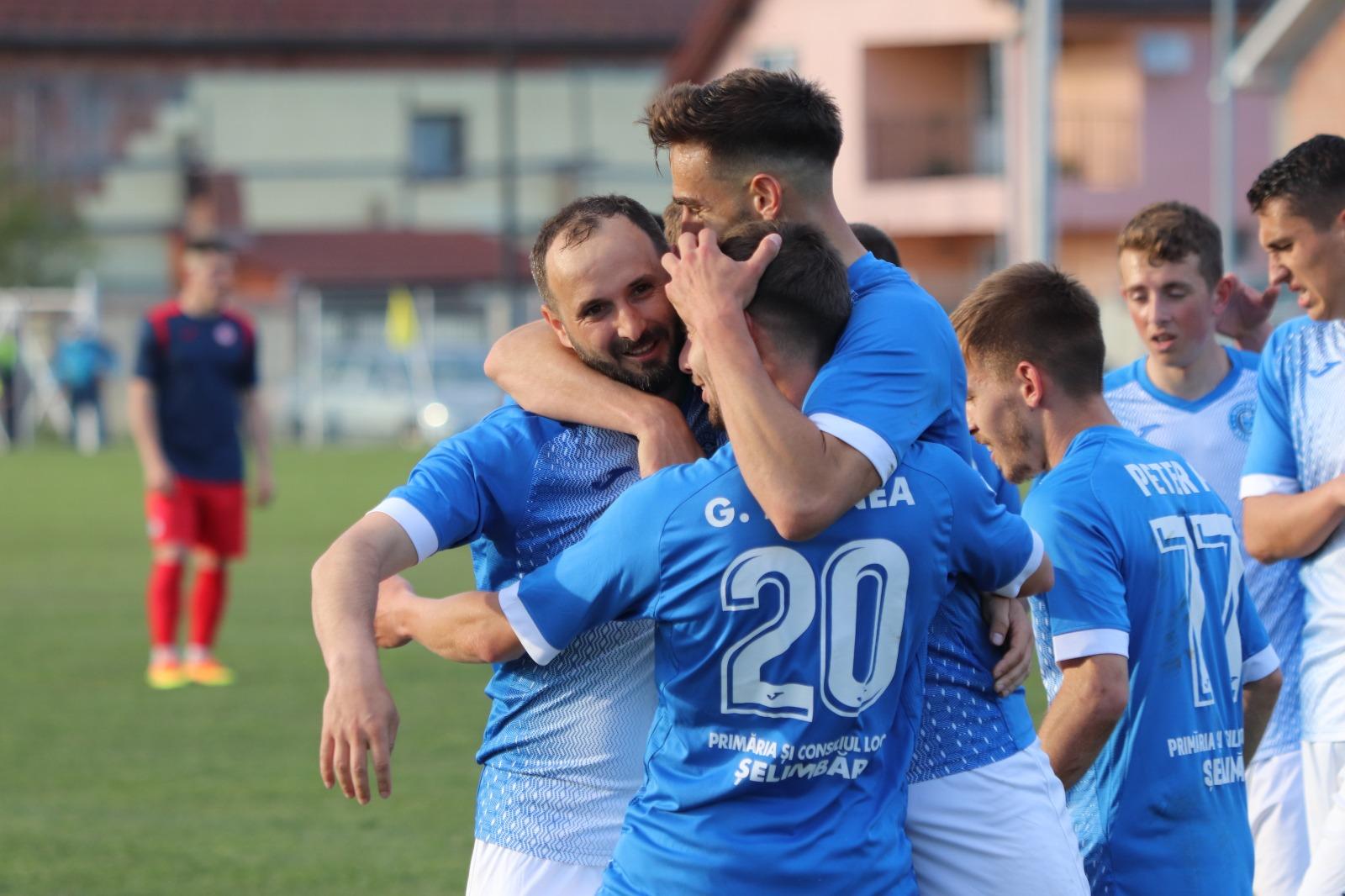 Viitorul Șelimbăr și Măgura Cisnădie câștigă primele meciuri din barajul pentru Liga 2