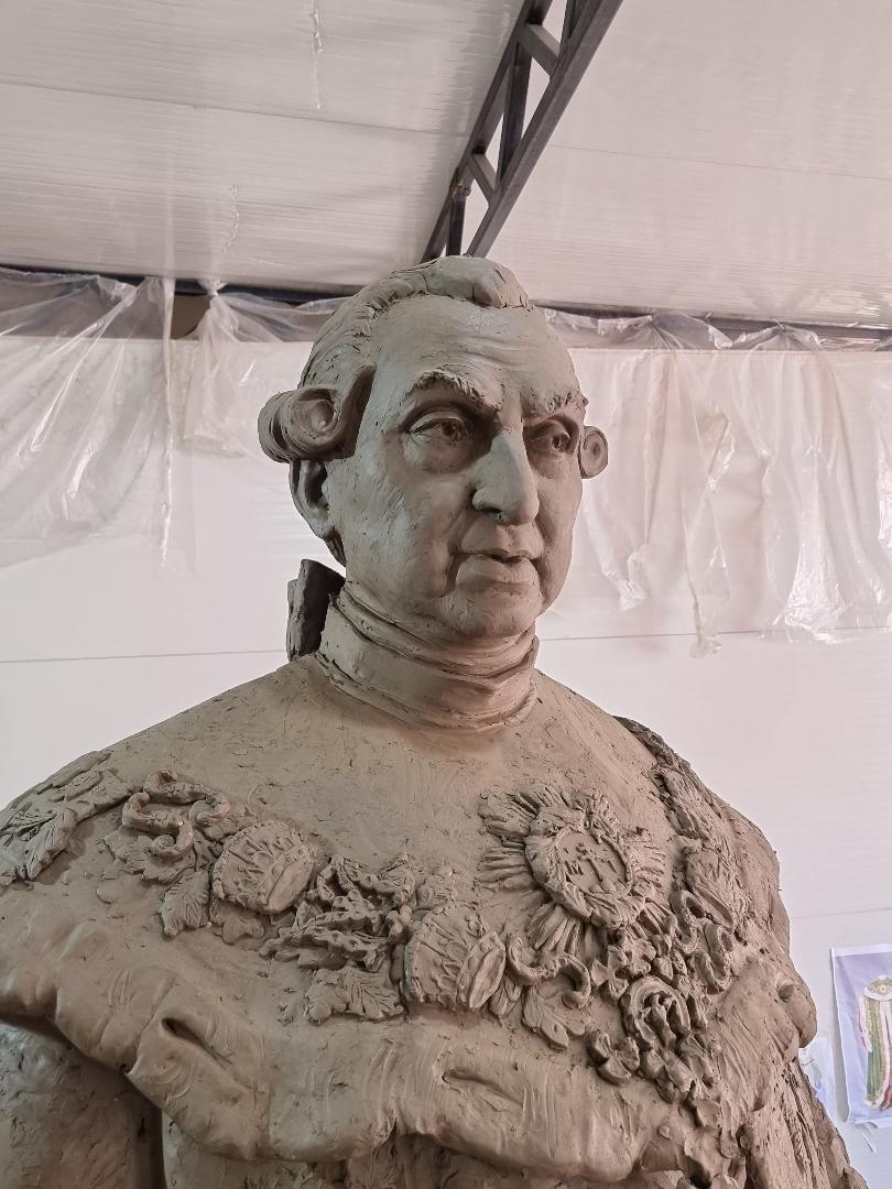 Statuia lui Brukenthal va fi amplasată în Piața Mare în luna august
