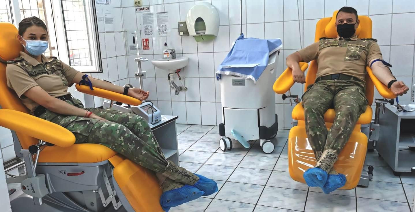 Protocol de donare de sânge încheiat între AFT, Spitalul Județean și Centrul de Transfuzii din Sibiu