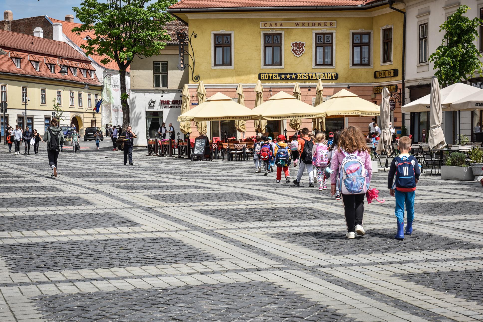 Doar 15 localități din județul Sibiu mai au cazuri active de coronavirus, alte 49 nu au raportat niciun caz de infecție în ultimele 14 zile