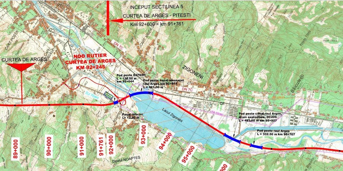 Încep lucrările și pe lotul 5 al autostrăzii Sibiu-Pitești