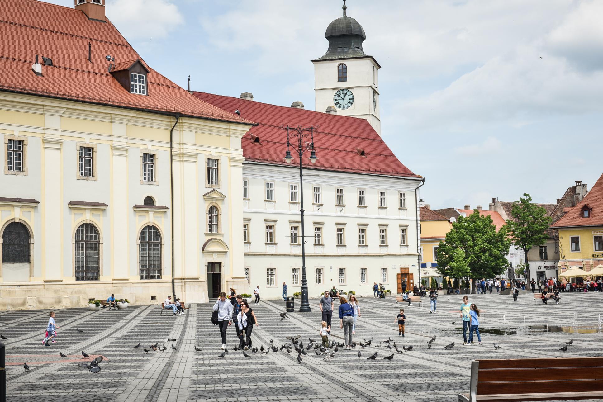 0,14 - incidența în orașul Sibiu, cu doar 24 de cazuri active