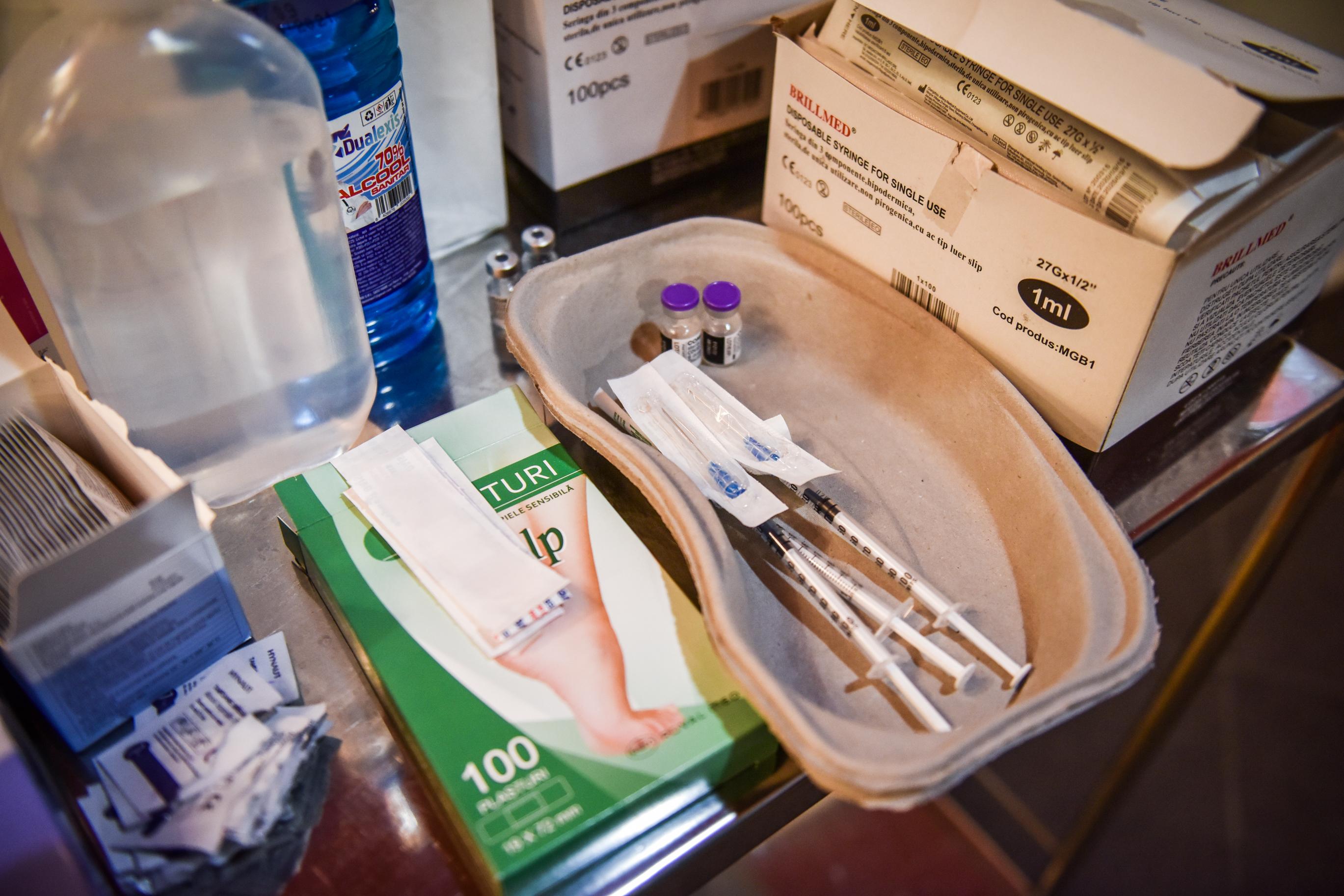 Peste 220.000 de doze de vaccin au fost administrate în Sibiu