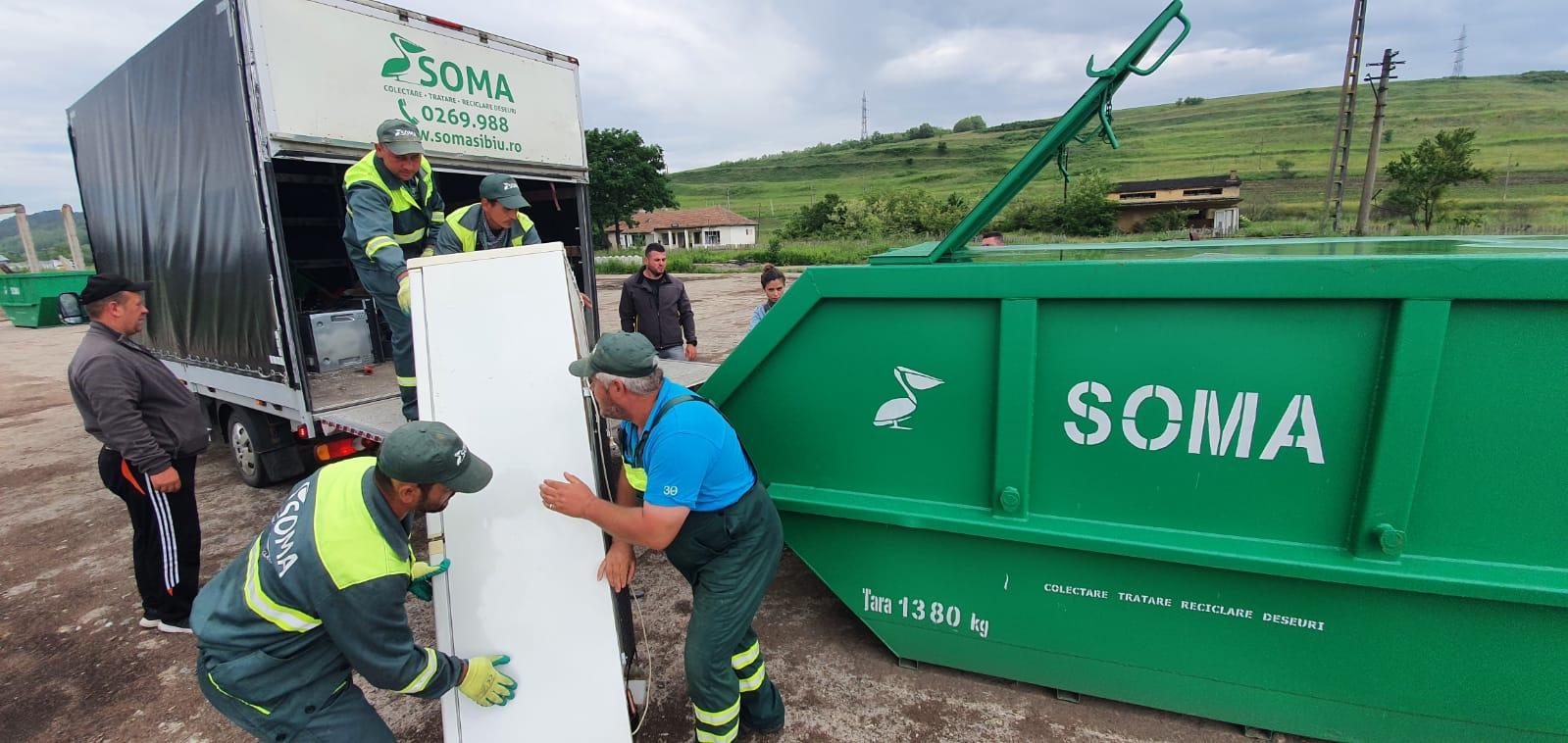 FOTO-VIDEO Exemplu pentru Sibiu. Cum a scăpat Agnita de gunoaiele aruncate aiurea