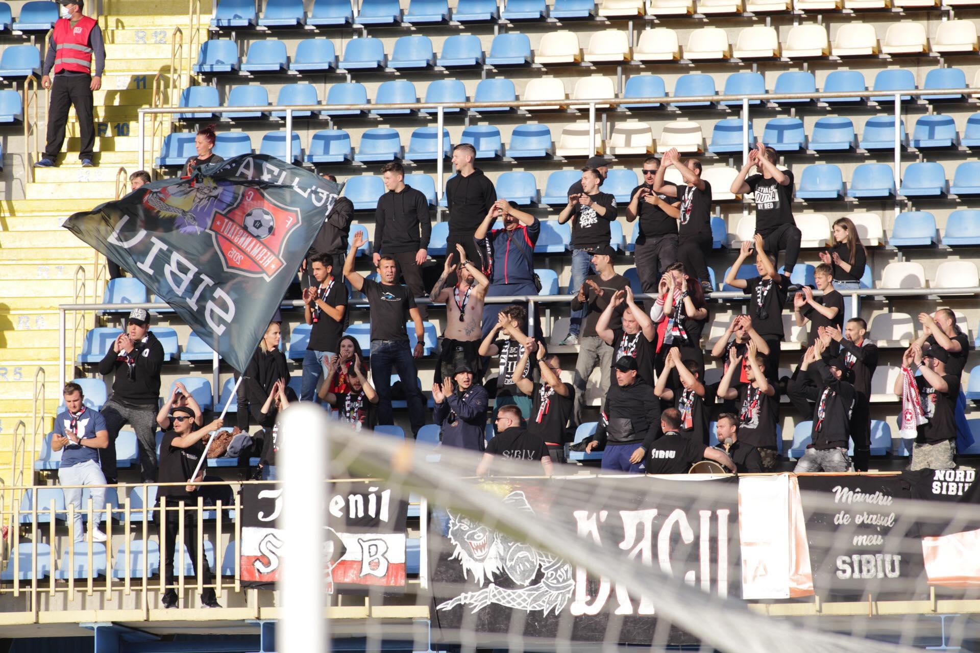 FC Hermannstadt a retrogradat în Liga 2