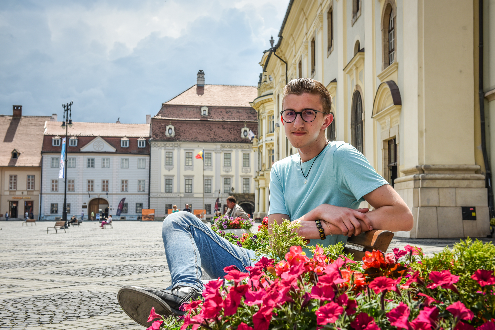 """Andrei Toma, scriitor la 15 ani: """"Sunt un foarte bun ascultător și-mi plac poveștile din jurul meu"""""""