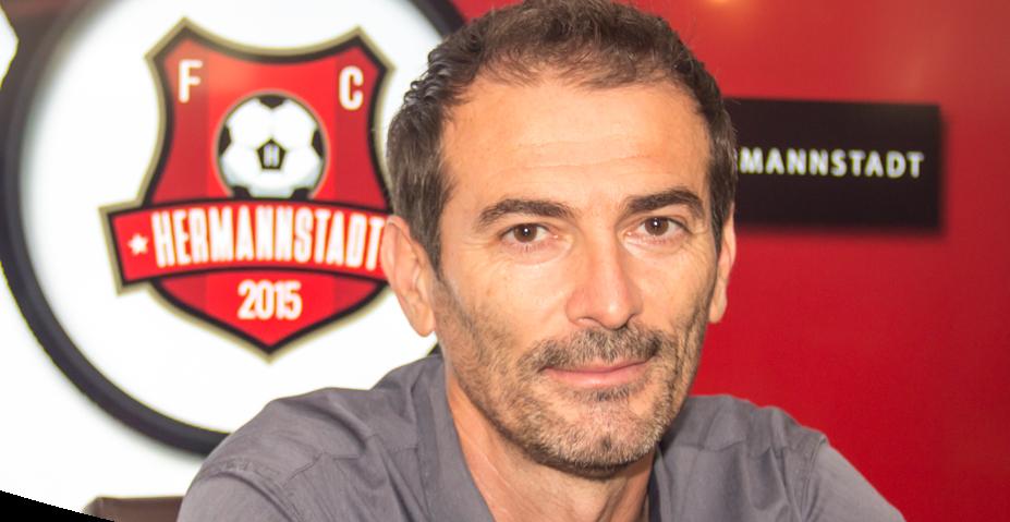 """Marius Măldărășanu este noul antrenor principal al F.C. Hermannstadt. """"Nu există în discuție decât un singur obiectiv: promovarea"""""""