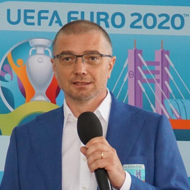 """Interviu cu sibianul care a organizat EURO 2020: """"Totul s-a desfășurat exact așa cum ne așteptam noi"""""""