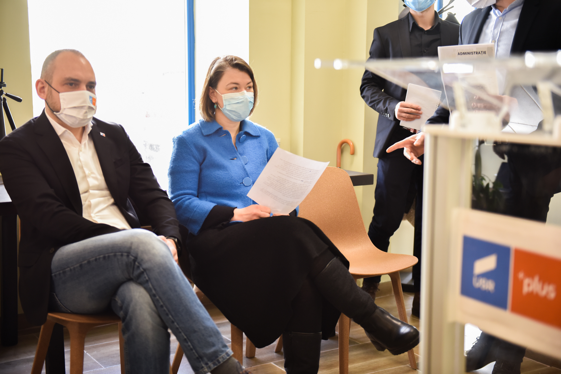 Ruxandra Cibu sau Adrian Echert? Noii politicieni din USR PLUS Sibiu își aleg primul președinte