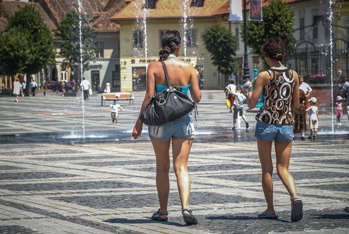 Meteorologii anunță un val de căldură și disconfort termic accentuat asupra Sibiului
